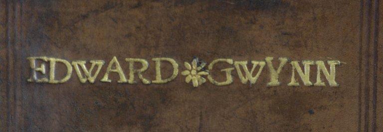 Edward Gwynn name detail