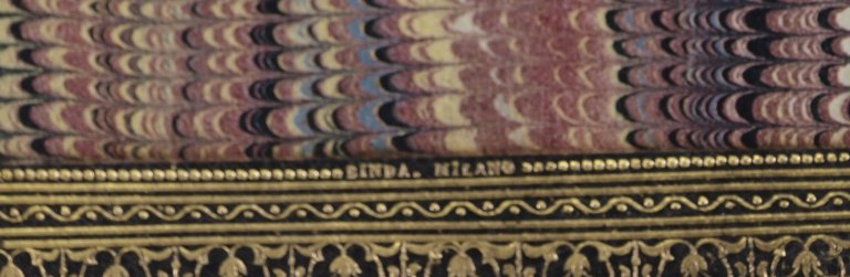 Binder's stamp, PQ4621 F6 S9 cage.
