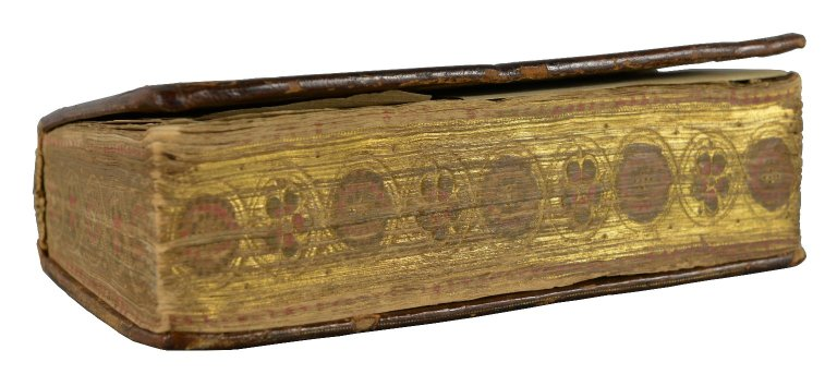 Fore- edge from an angle, 267- 907.1q.