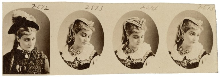 L. Henderson [in theatrical costume] [graphic].