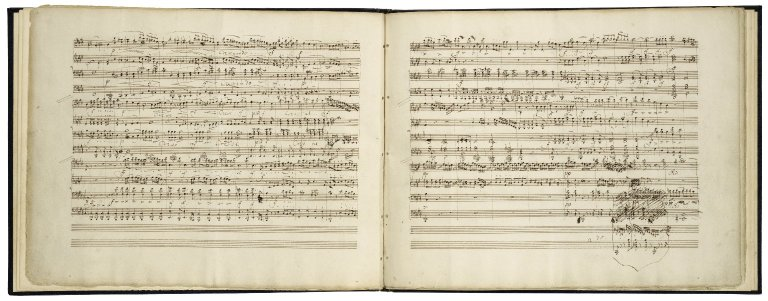 [Sommernachtstraum. Ouverture; arr.] Overture to Shakespeare's Midsummer night's dream arranged as a duet for two performers [manuscript], 1829? July 10 / by Felix Mendelssohn Bartholdy.