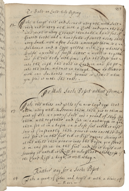 Receipt book of Catherine Bacon [manuscript].