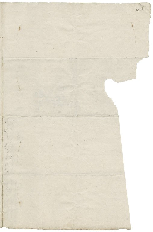 Letter from Anthony Bagot, Whitehall, to Richard Bagot