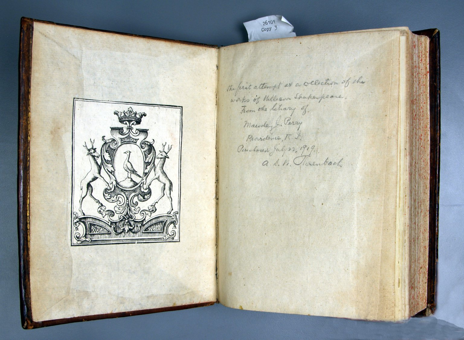 Pastedown, inside front cover and text block, STC 26101 copy 3.