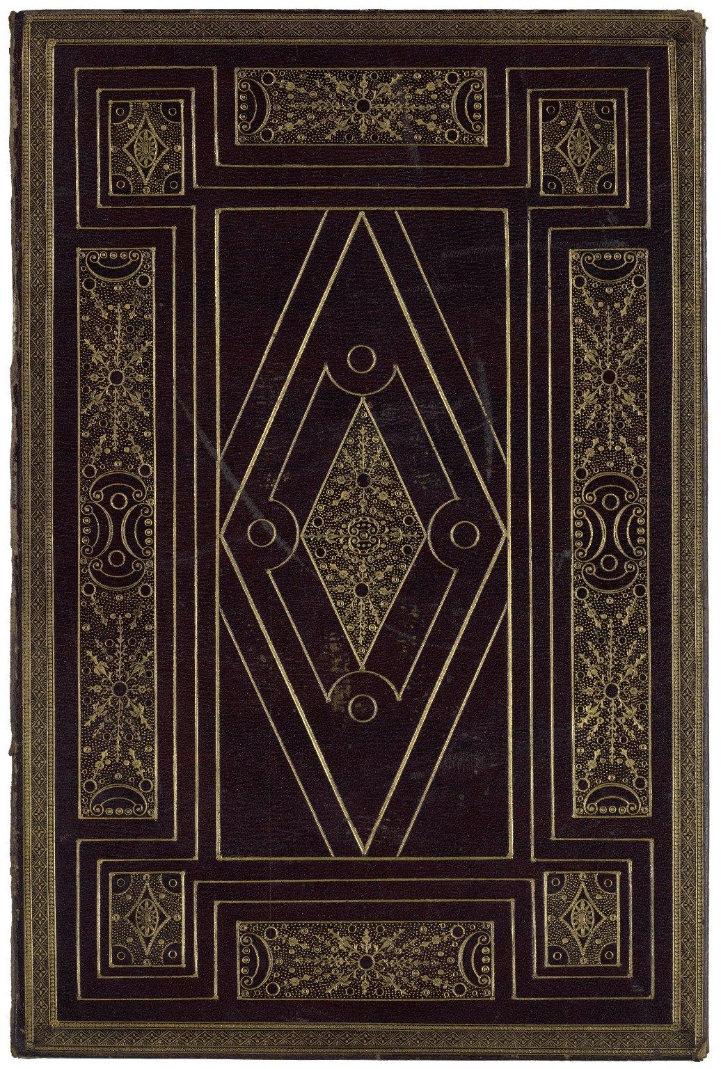 Original ca. 1800 front cover, STC 22273 fo.1 no.79