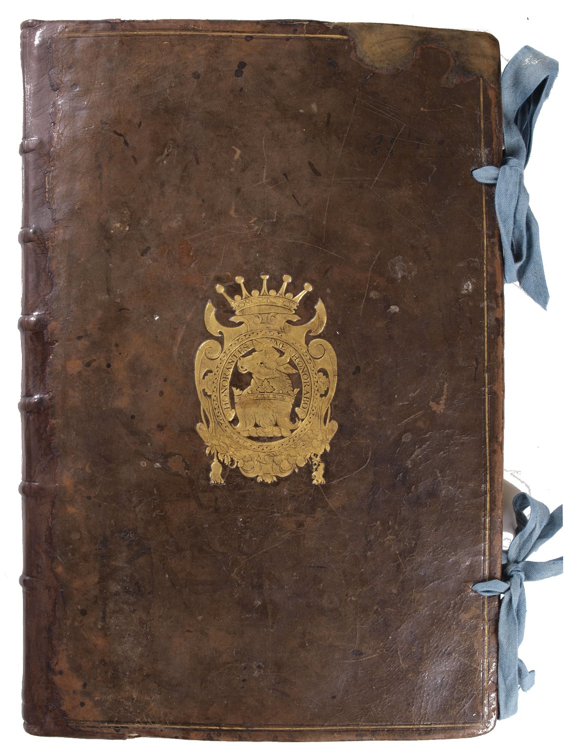 Front cover with coat of arms, STC 11922 c.3.