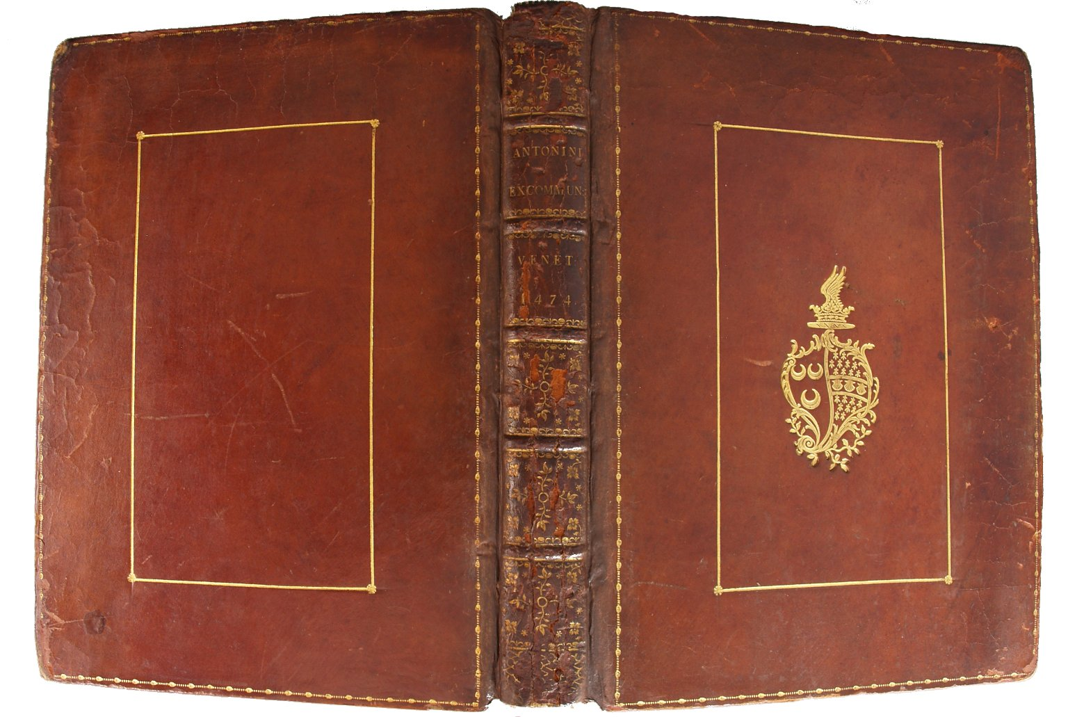 Spine and covers, INC A684.