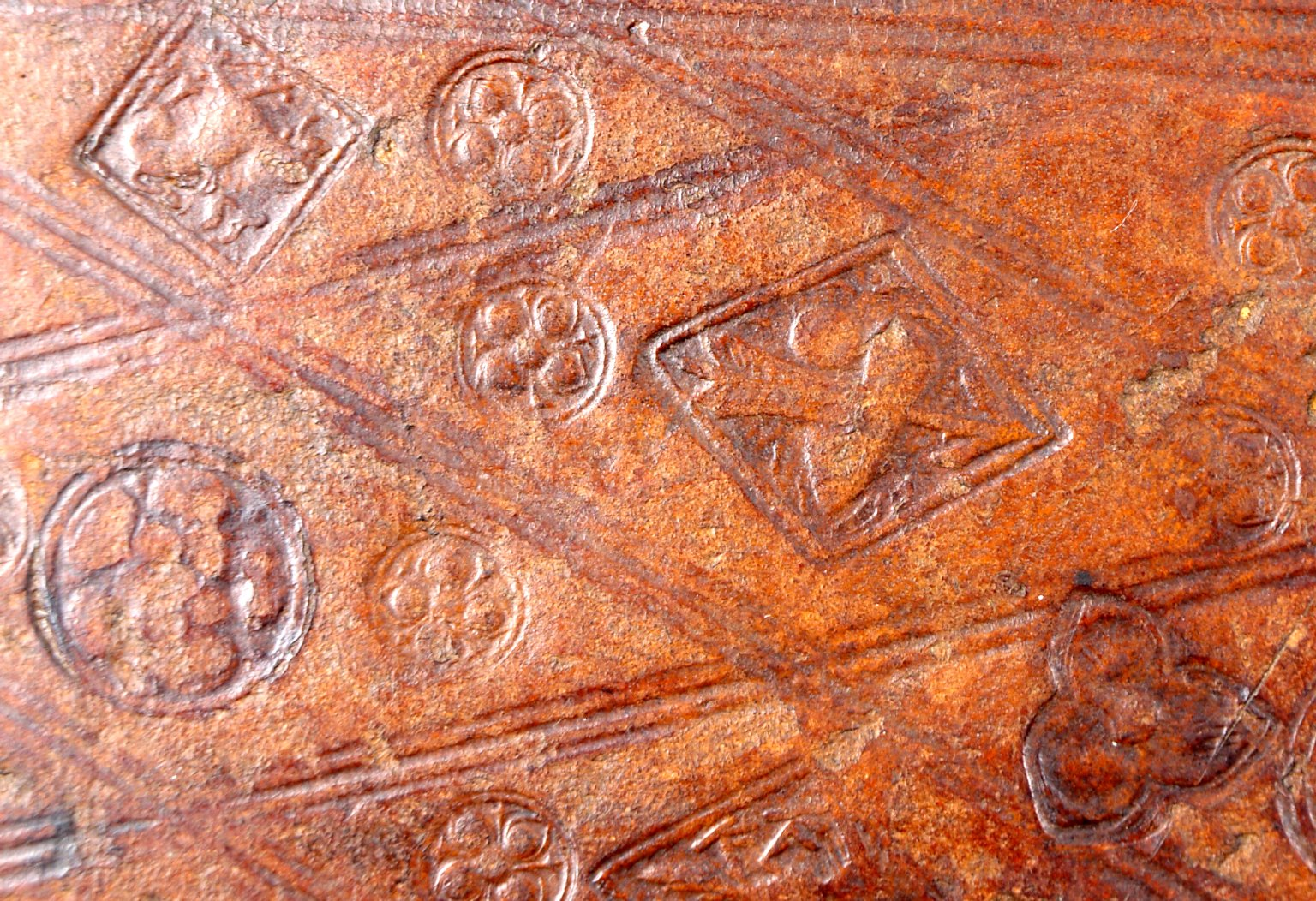 Stamp (detail), INC A1077.