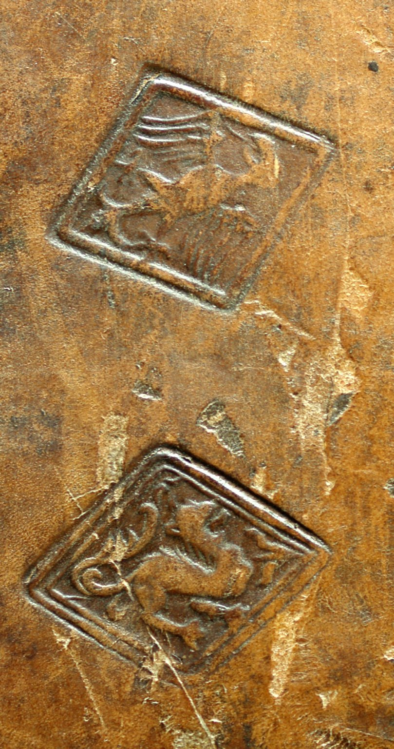 Small rombus stamps (detail), INC J467.