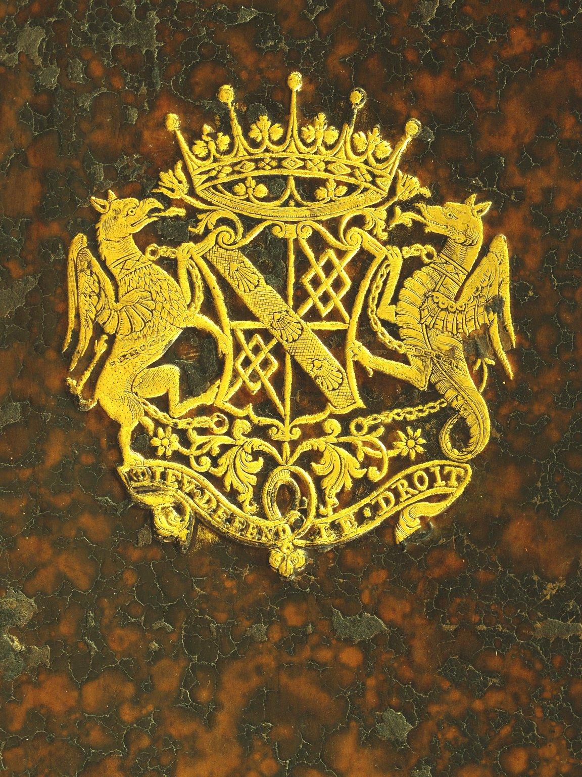 Coat of arms (detail), INC J77.