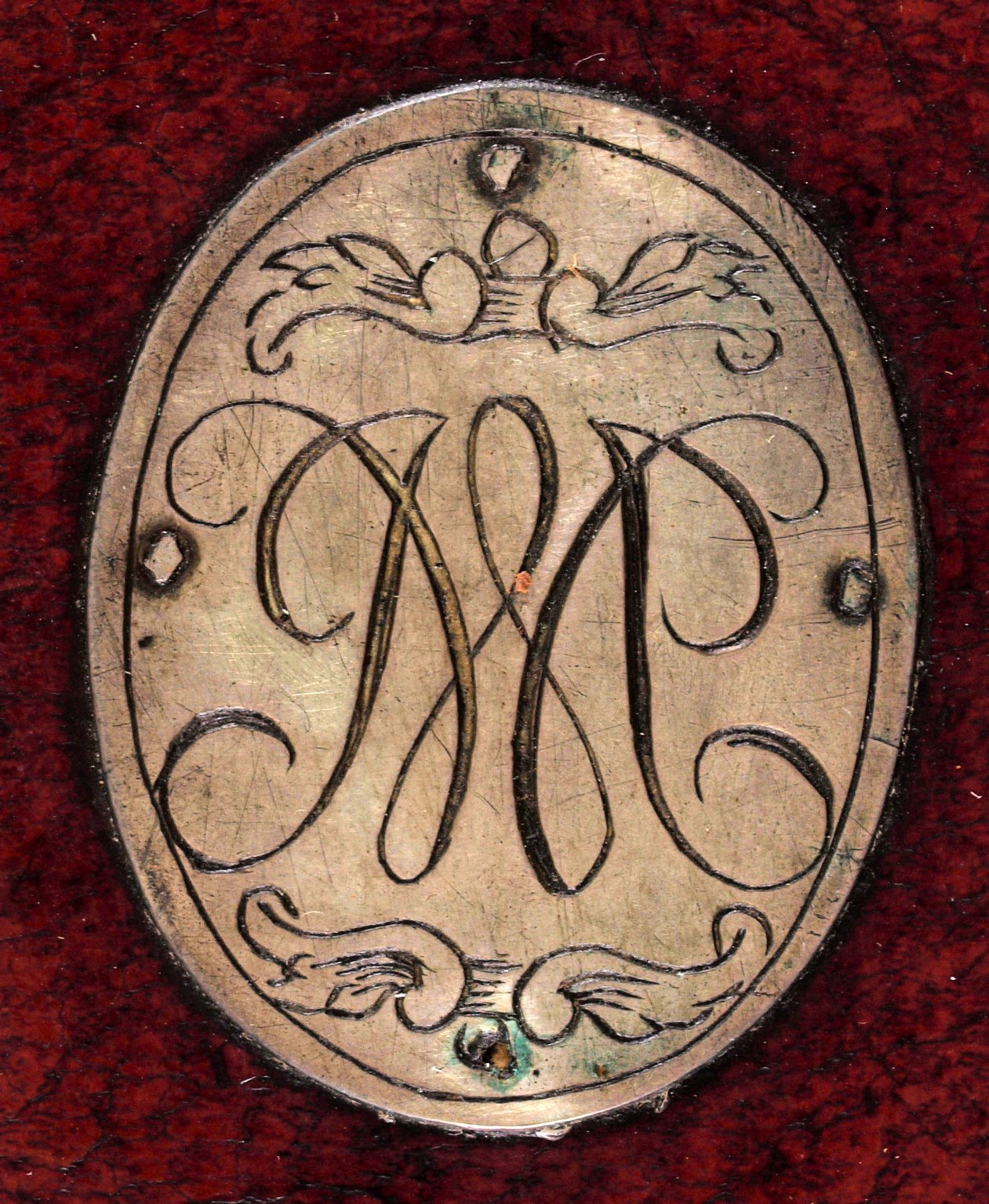 Engraved plate (detail), B2569.5