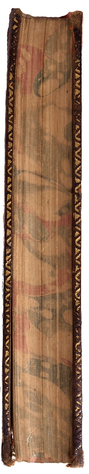 Fore-edge, PR 2752 1740 copy 2 v.7 Sh.Col.
