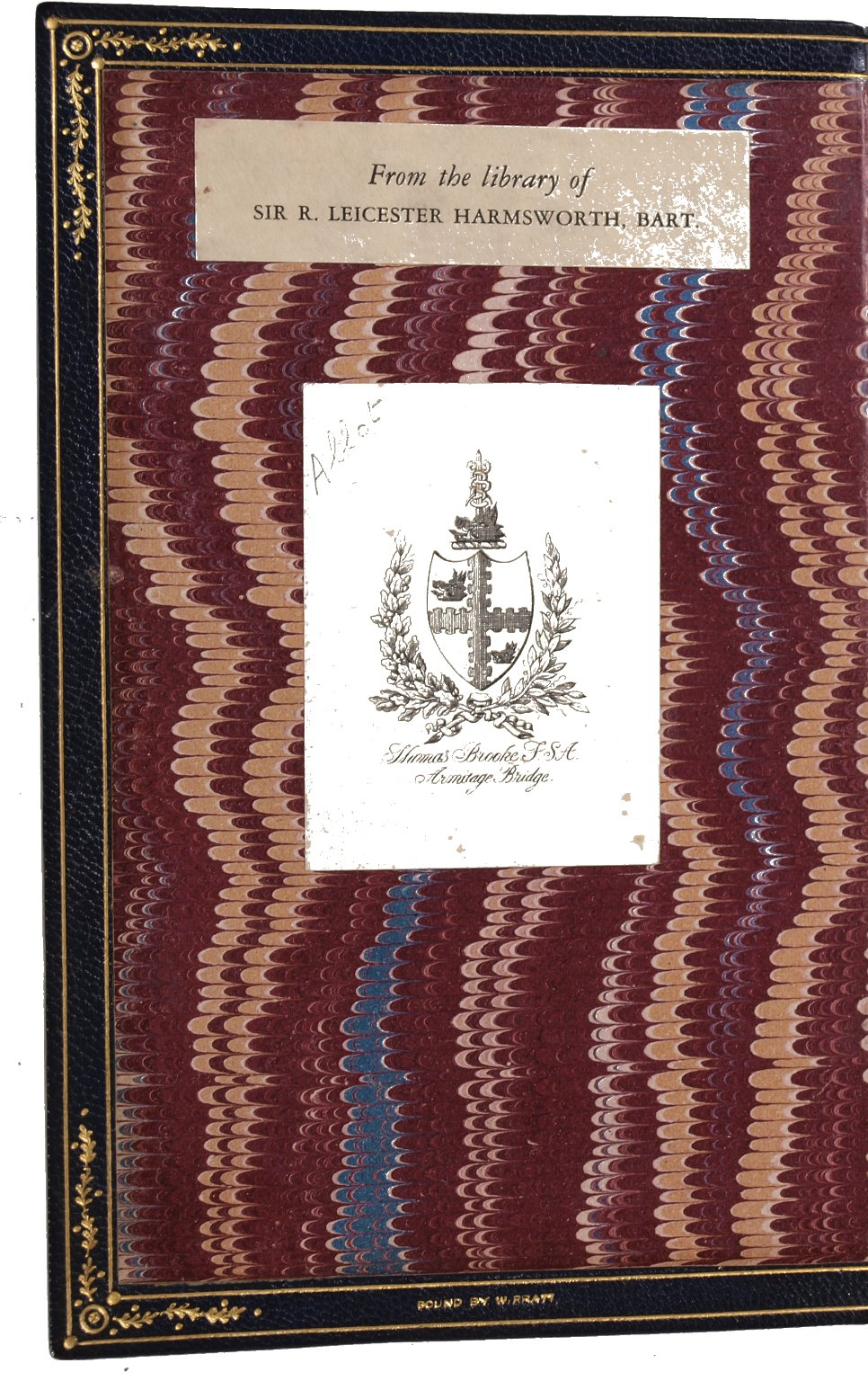 Inside front cover, STC 378 copy 2.