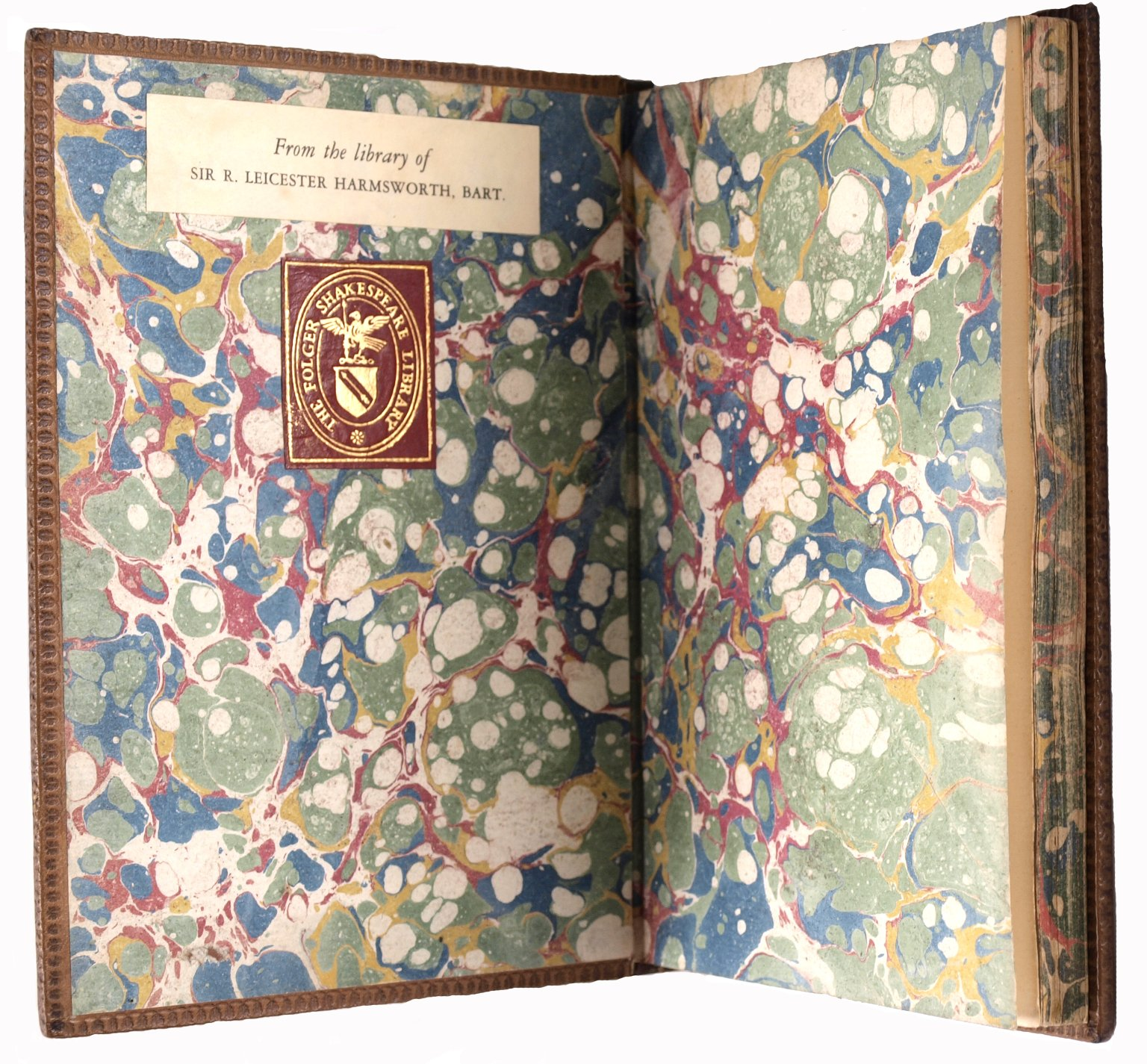 Endpapers and edge decoration, STC 1764.2.