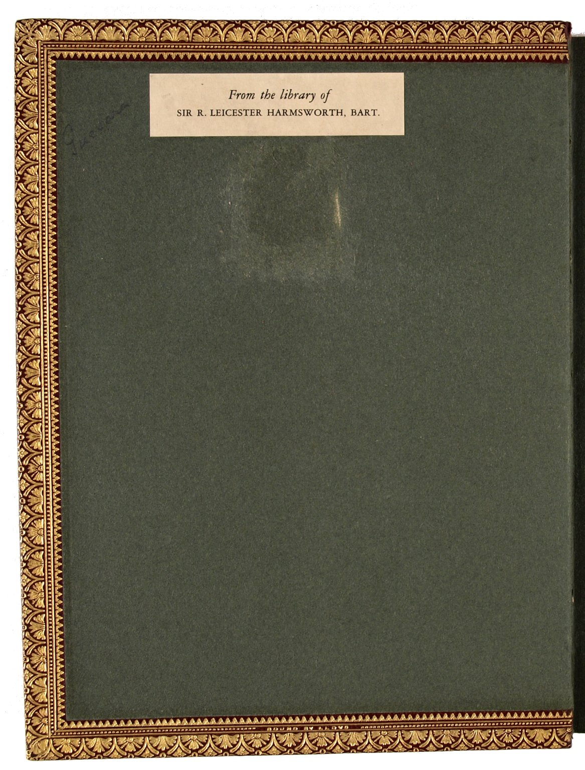 Inside front cover, STC 10794 copy 1.