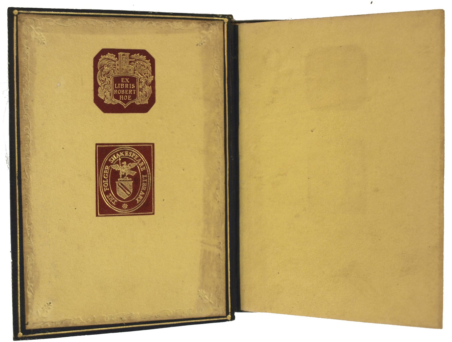 Inside front cover, STC 19332.