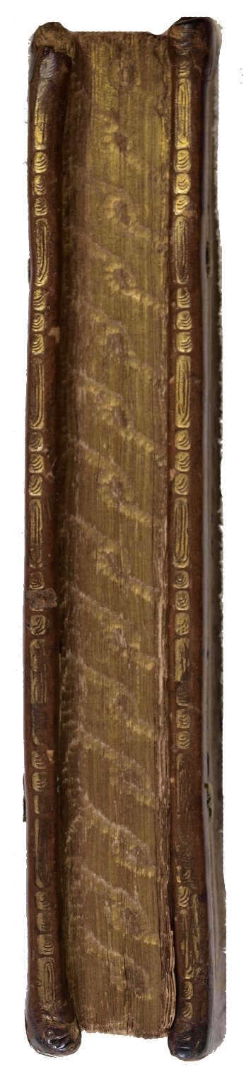 Gilt and gauffered fore-edge