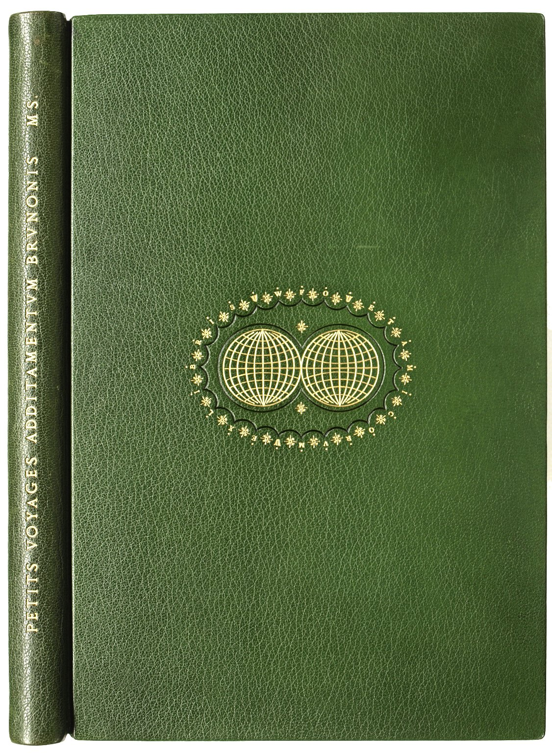Front cover and spine, Bd.w. G159 .B5 1598 v. 4. Cage