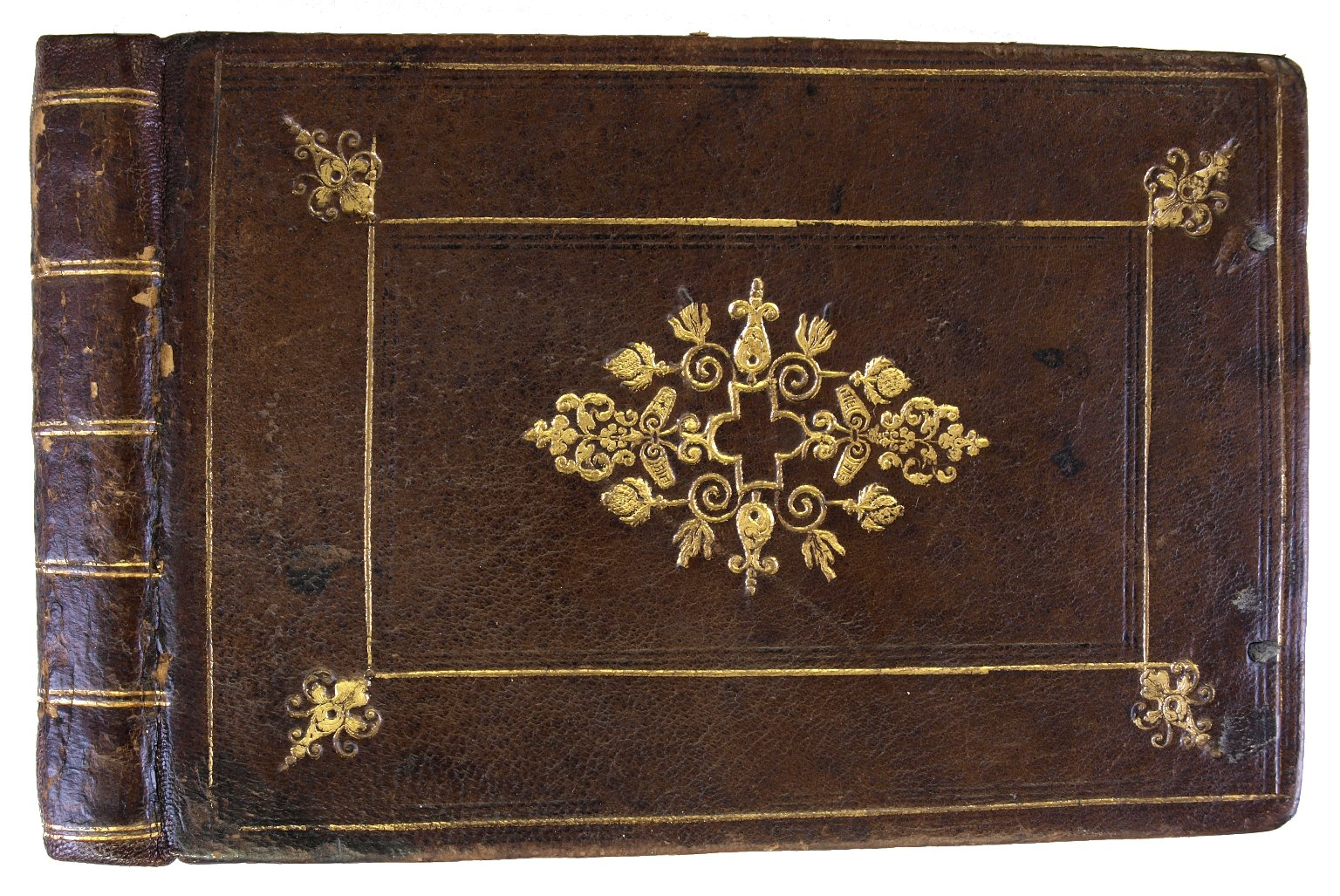 Front cover and spine, V.a. 603.