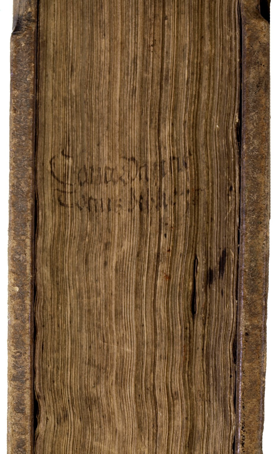 Fore-edge, BS423 C6 1521 Cage fo..