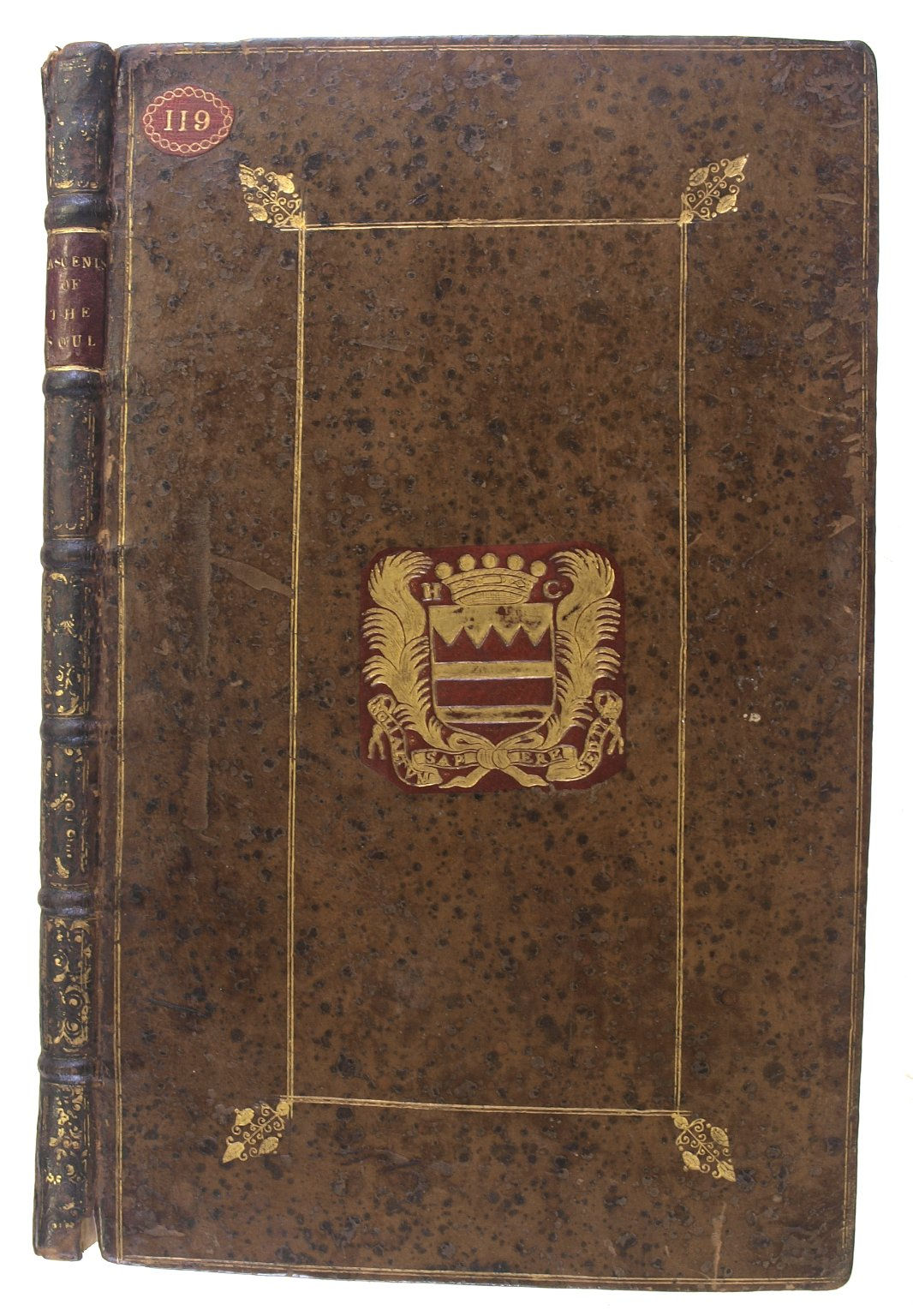 Front cover and spine, 140-492f.