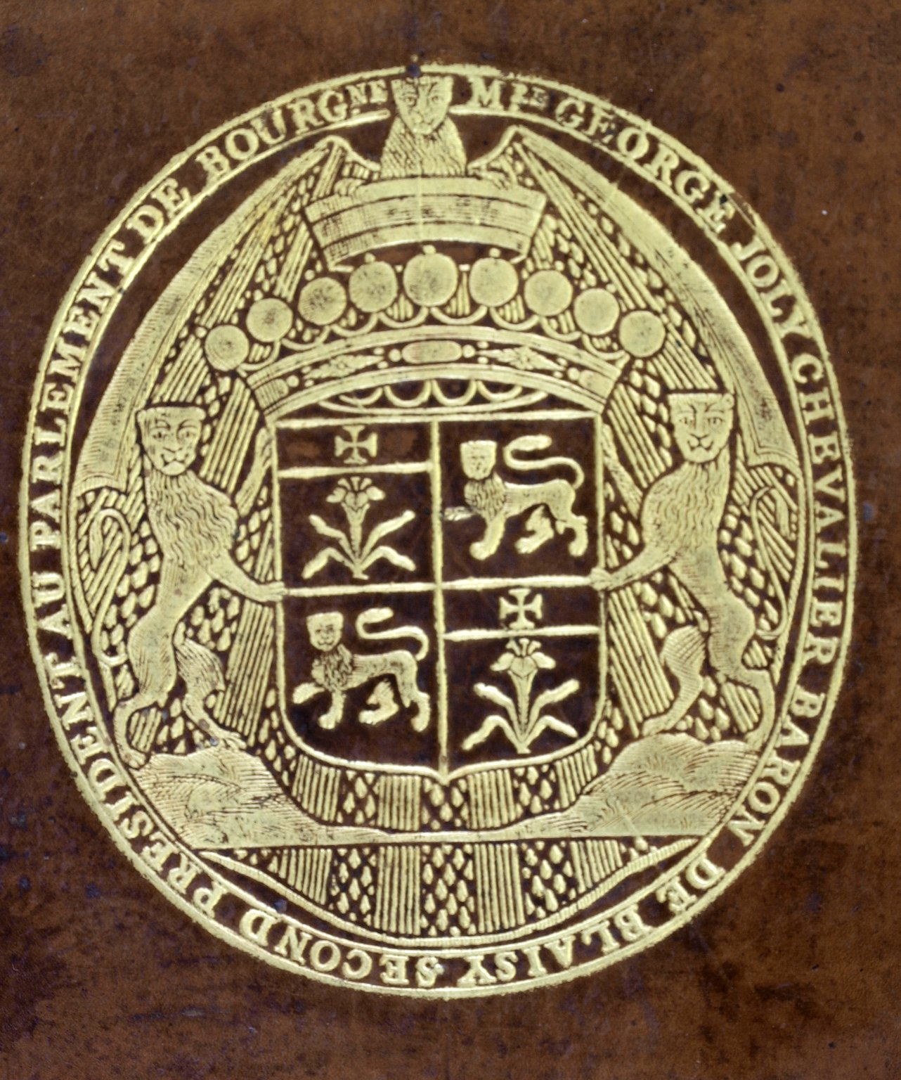 coat of arms detail