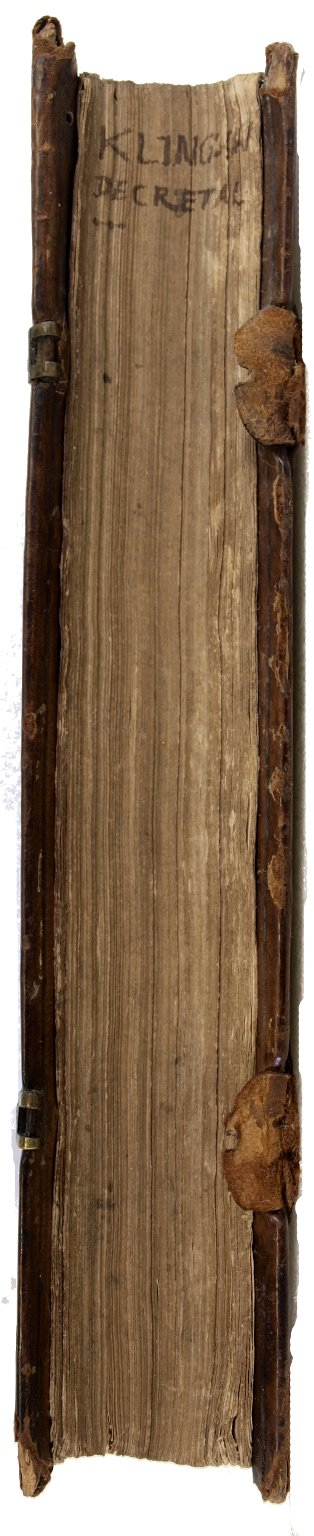 Fore-edge, BX1939 D4 K5 1551 cage.