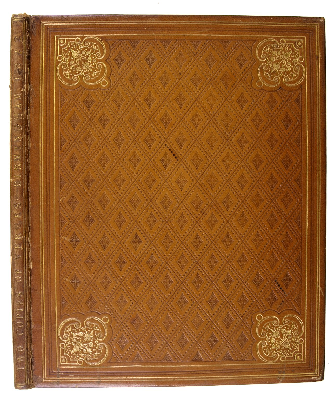 Front cover and spine, DA396 A22 T9.