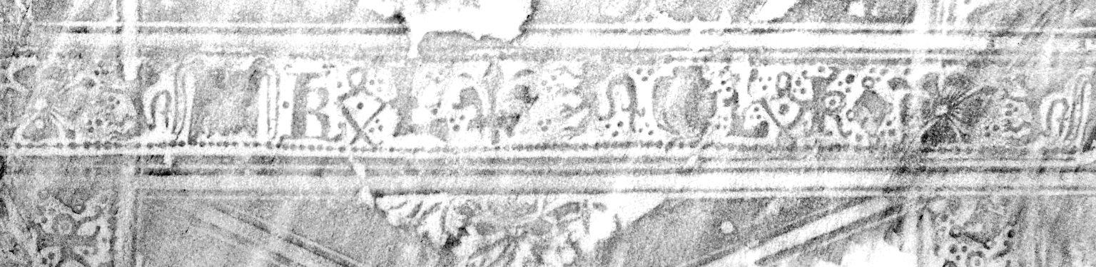 Decorative roll rubbing, PA6653 A2 1523 Cage.