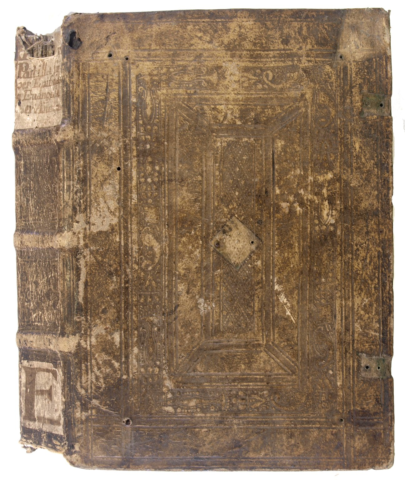 Front cover and spine, 170- 372q.