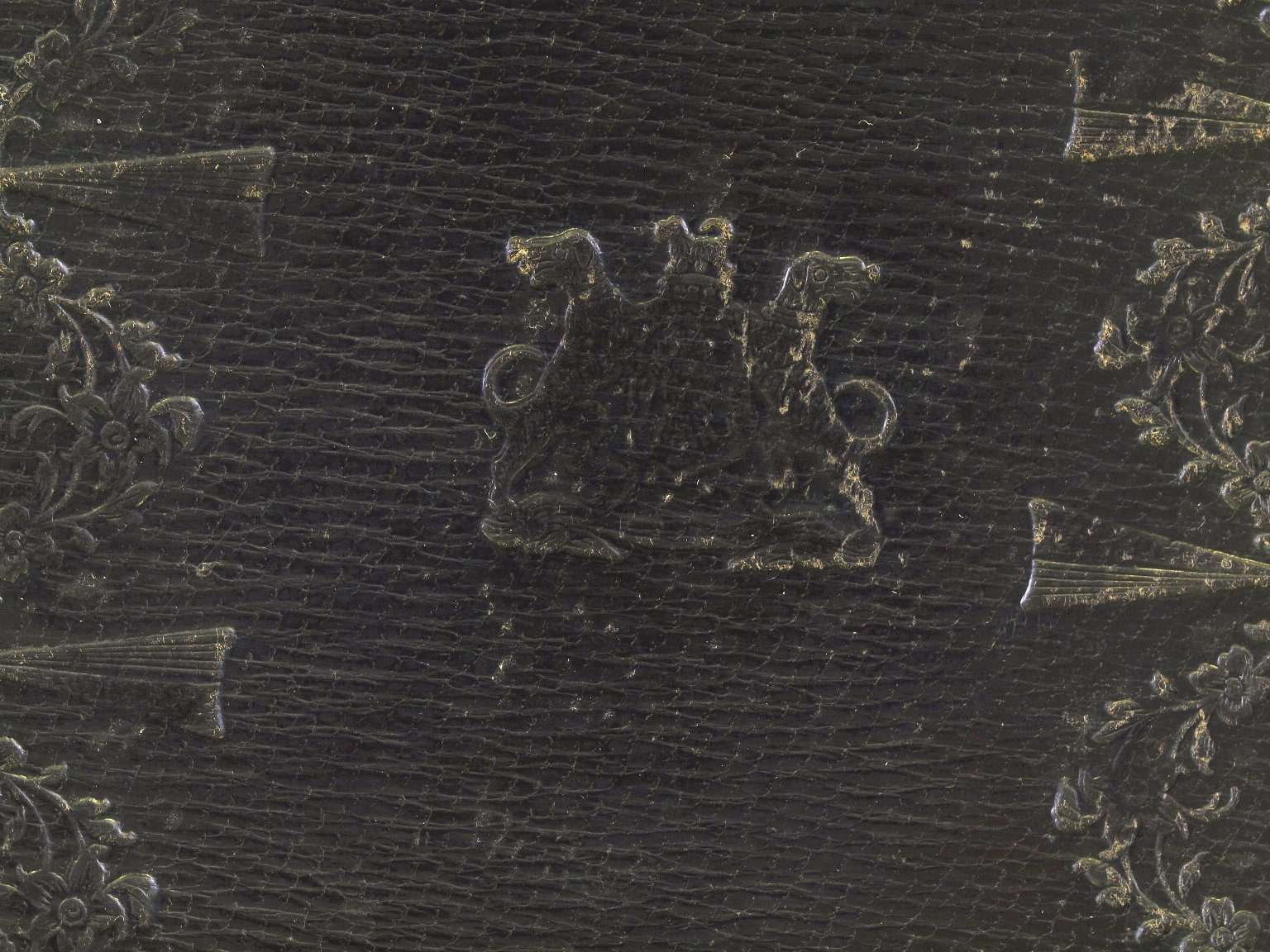 Front cover tooling detail, 182845.