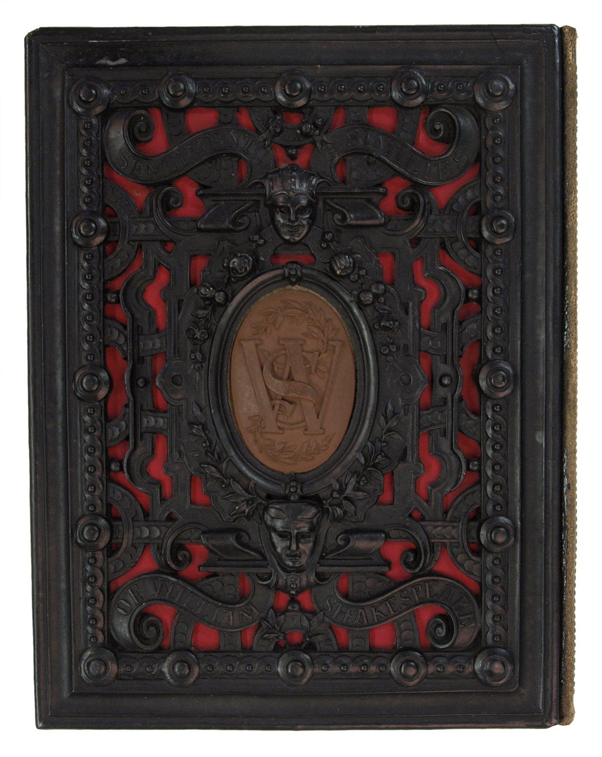 Back cover, Curio, case 1152.