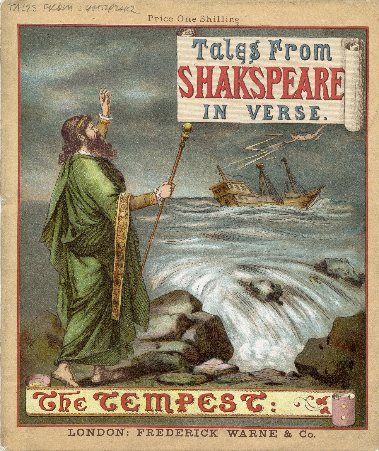 [Tales from Shakespeare in verse.] The tempest ...
