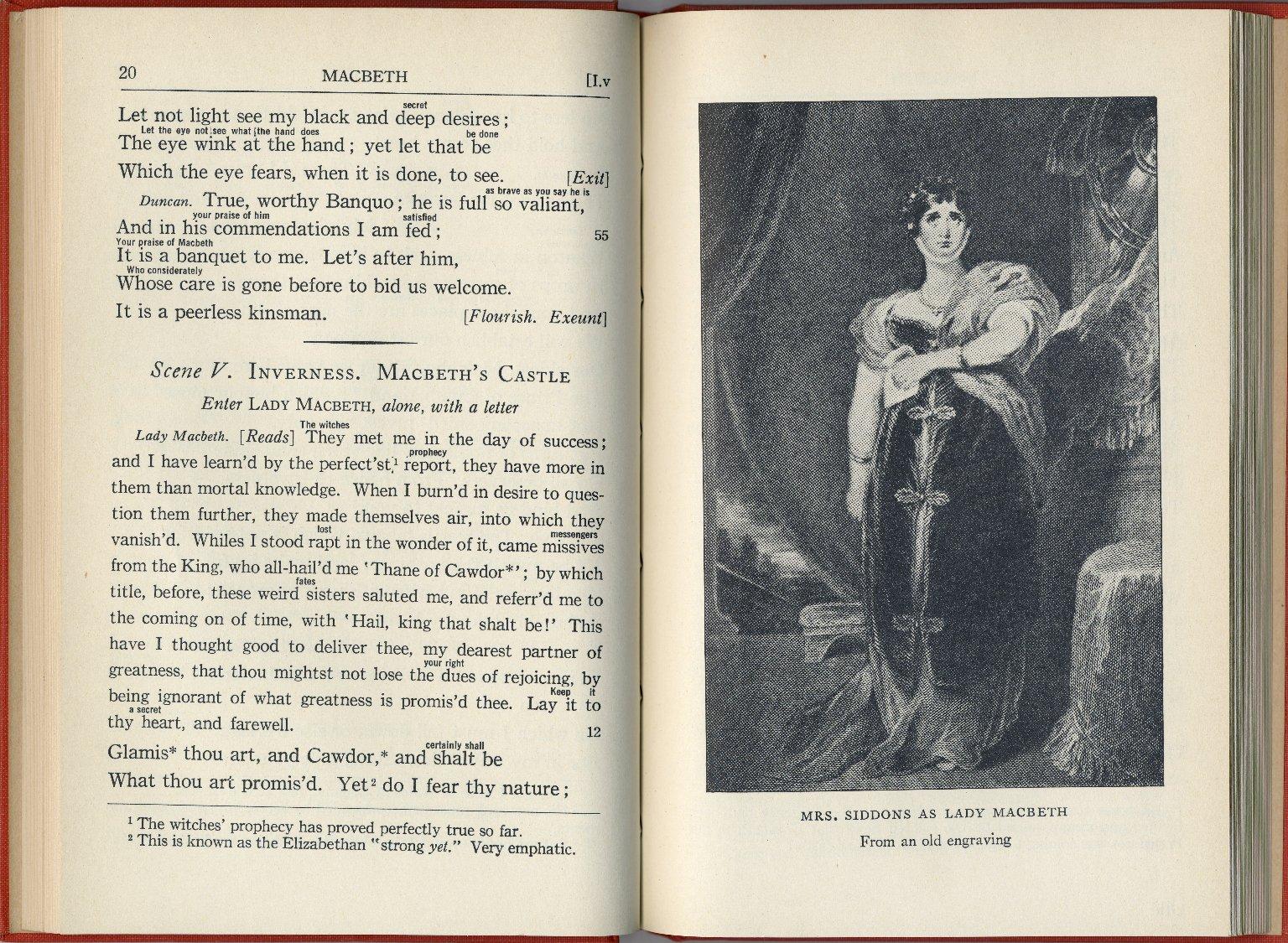Shakespeare's Macbeth Interlinear edition