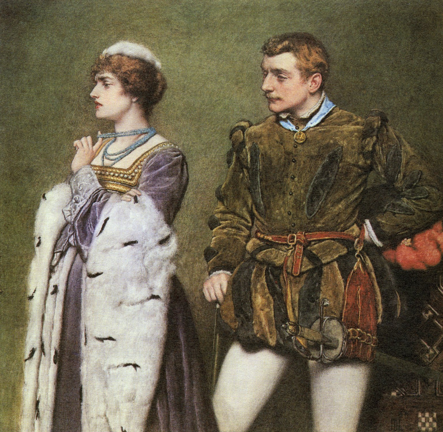 [Taming of the Shrew, Katherine and Petruchio] [graphic] / J.D.L.