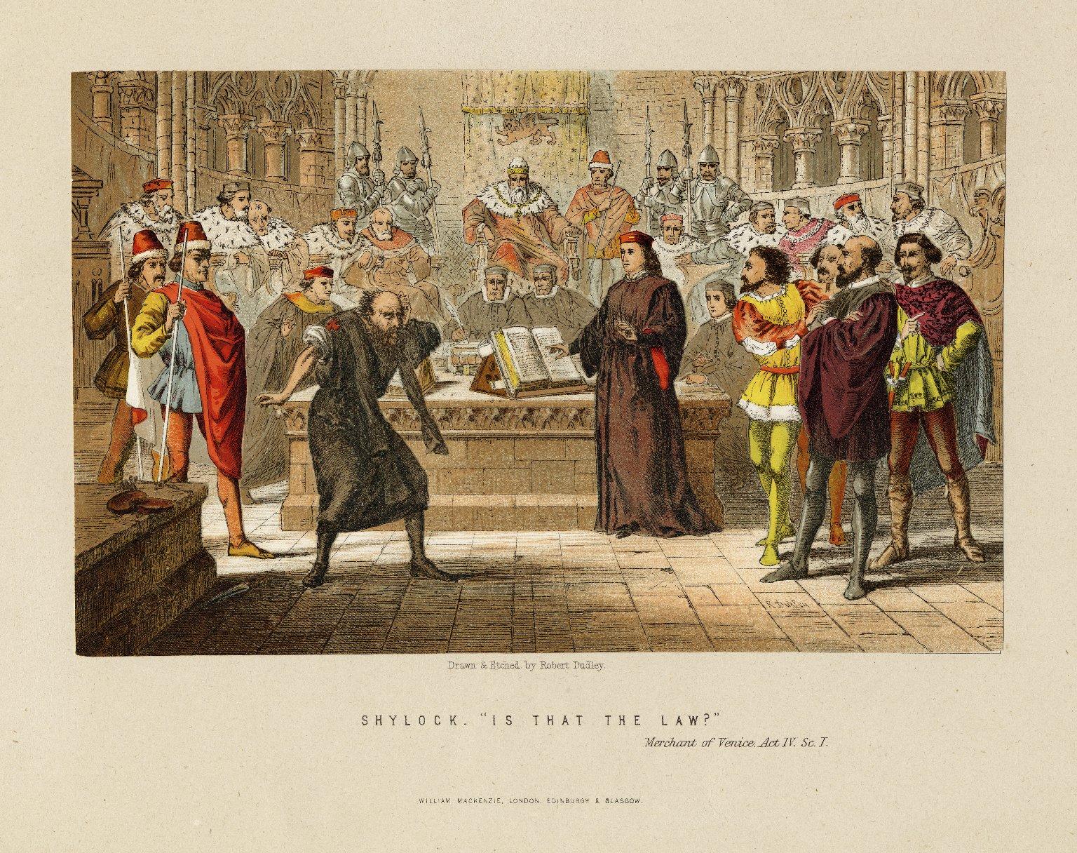 Merchant of Venice Act IV Scene 1