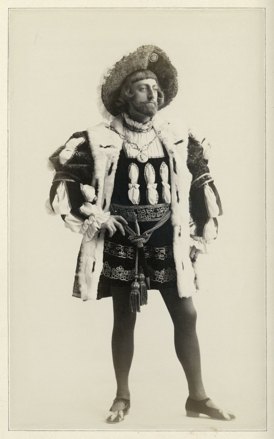 John Drew as King of Navarre [in Augustin Daly's production of Love's Labour's Lost]