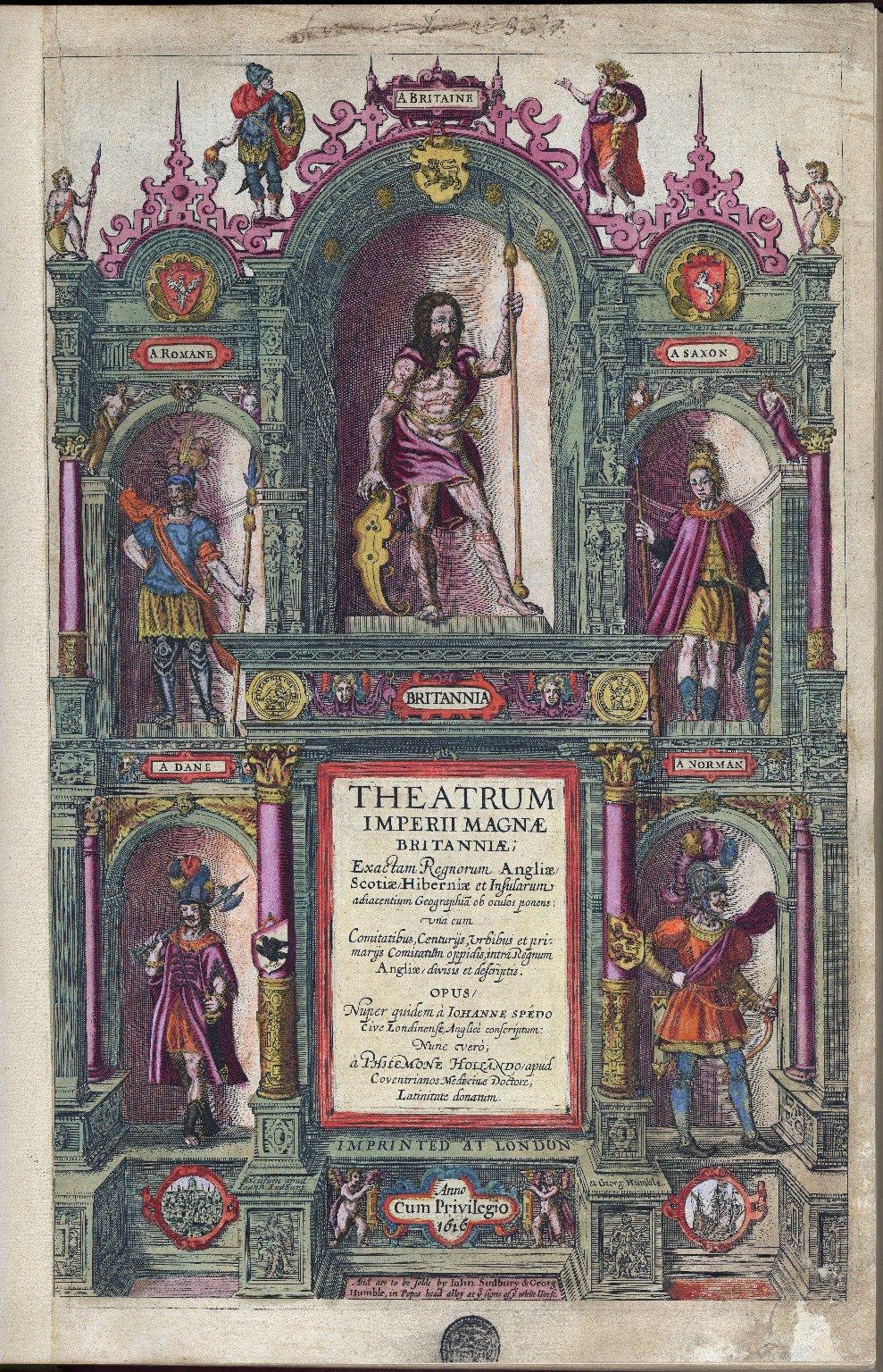 [Theatre of the Empire of Great Britaine] Theatrum imperii Magnae Britanniae ...