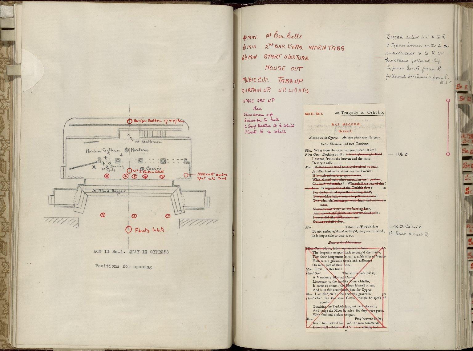 Robeson promptbook: Othello