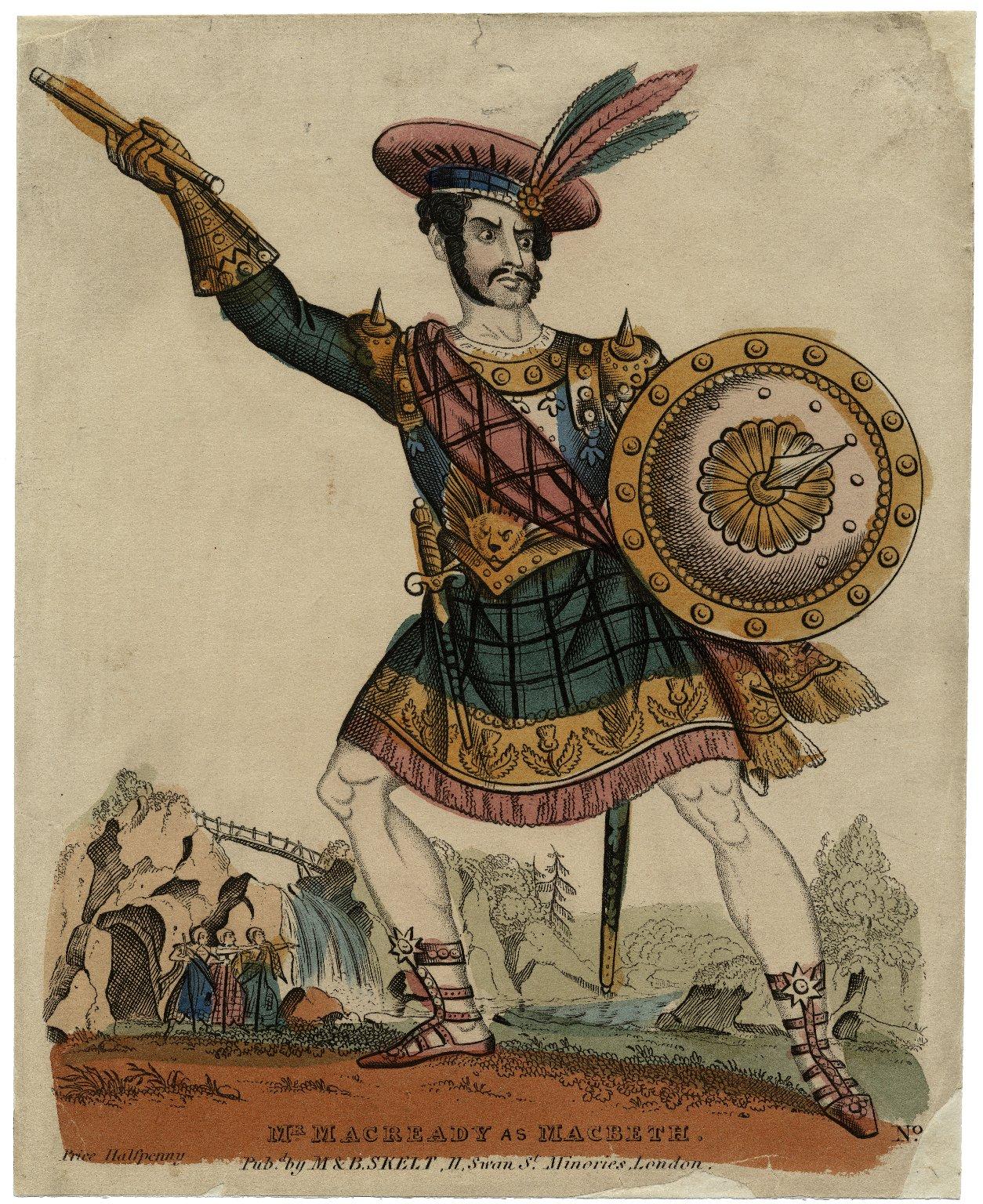 Mr. Macready as Macbeth [in Shakespeare's Macbeth.] [graphic].