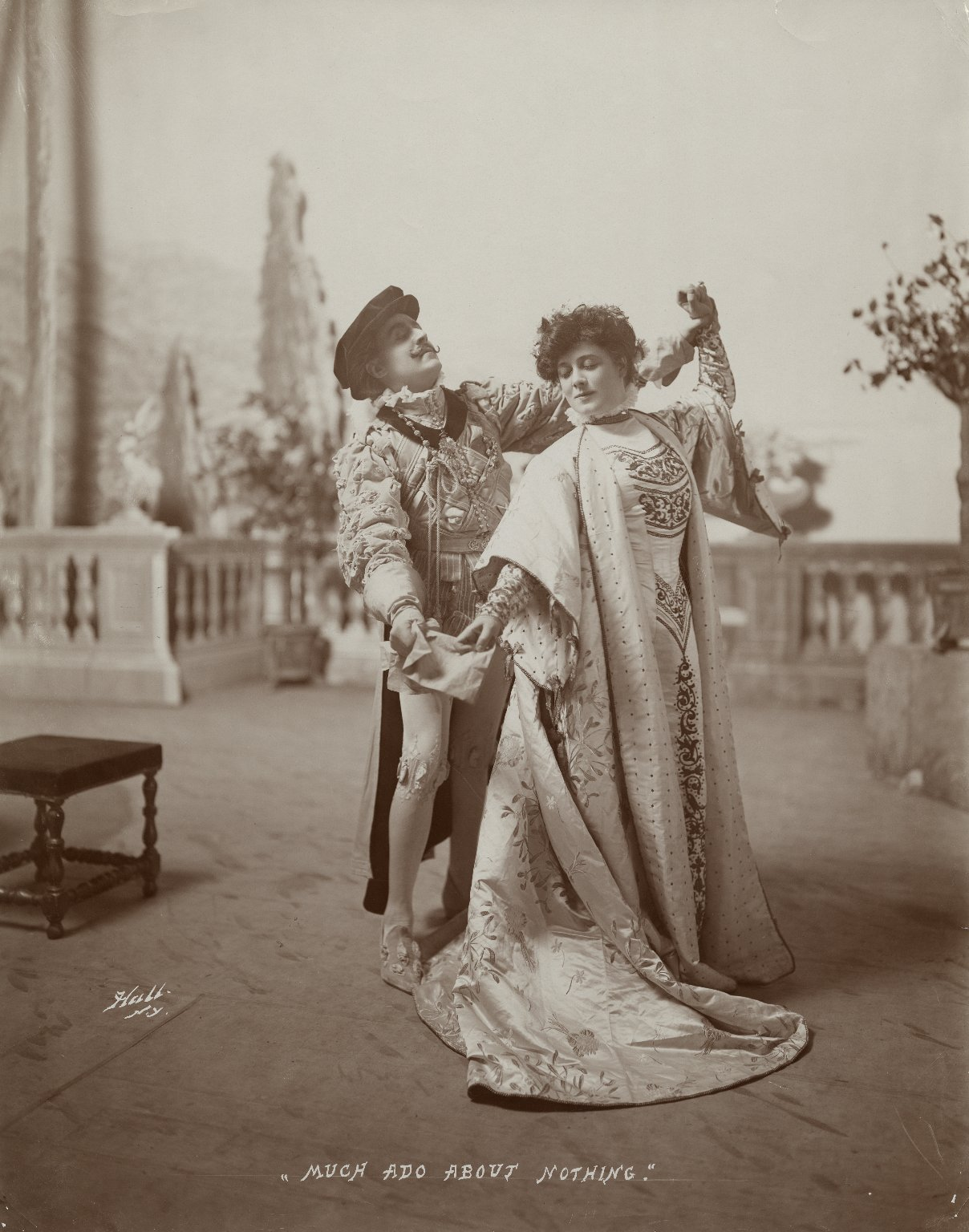 [4 photographs of a production of] Much ado about nothing [starring E.H. Sothern and Julia Marlowe] [graphic] / Hall.
