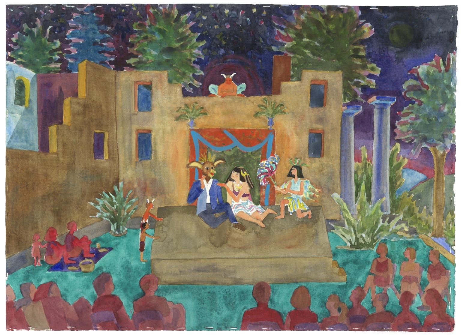 Chesapeake Shakespeare Company's Midsummer Night's Dream at the Patapsco Female Institute [graphic]