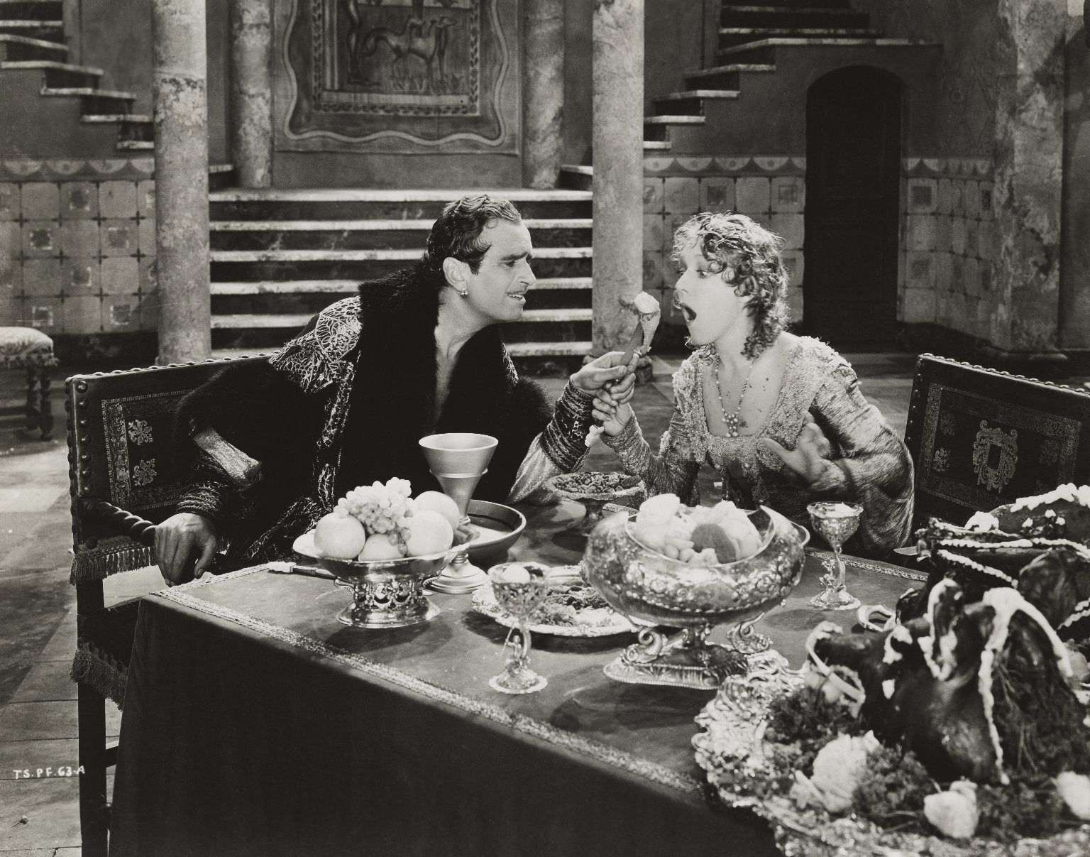 Mary Pickford and Douglas Fairbanks Sr. in Taming of the Shrew