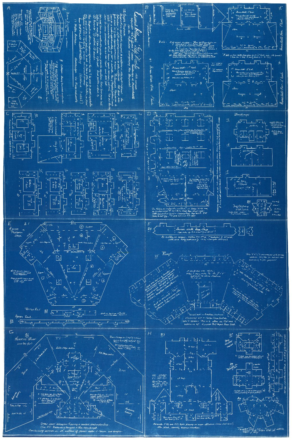 Blueprints For A Modern Four Bedroom Home: Blueprints For Making A Model Of Shakespeare's Globe