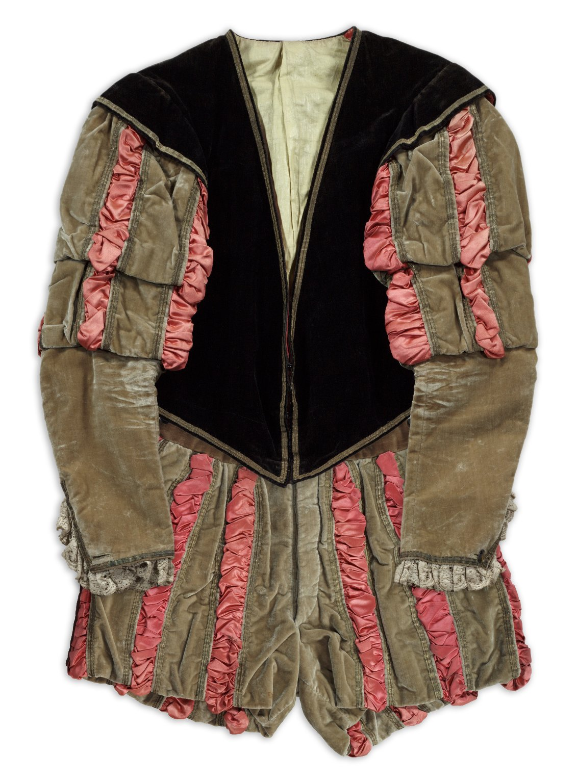 Edwin Booth costume for Iago