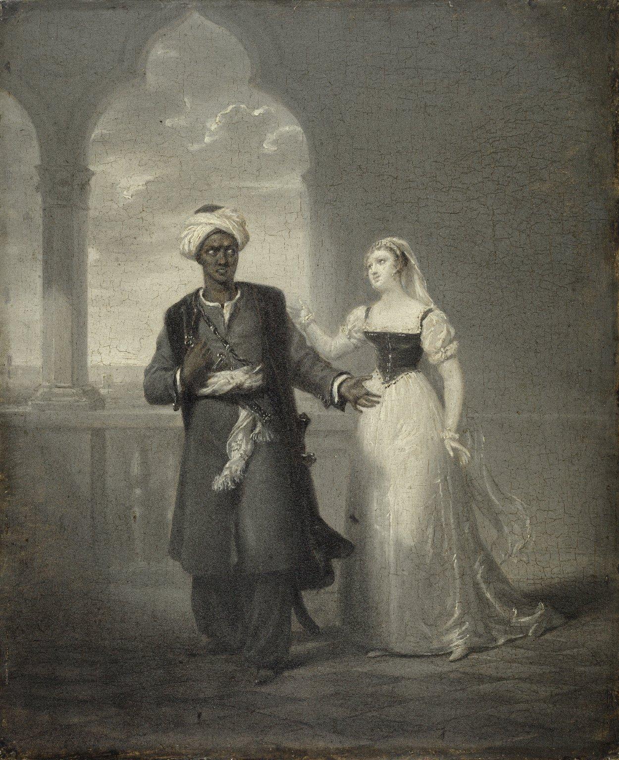 Othello and Desdemona [graphic]