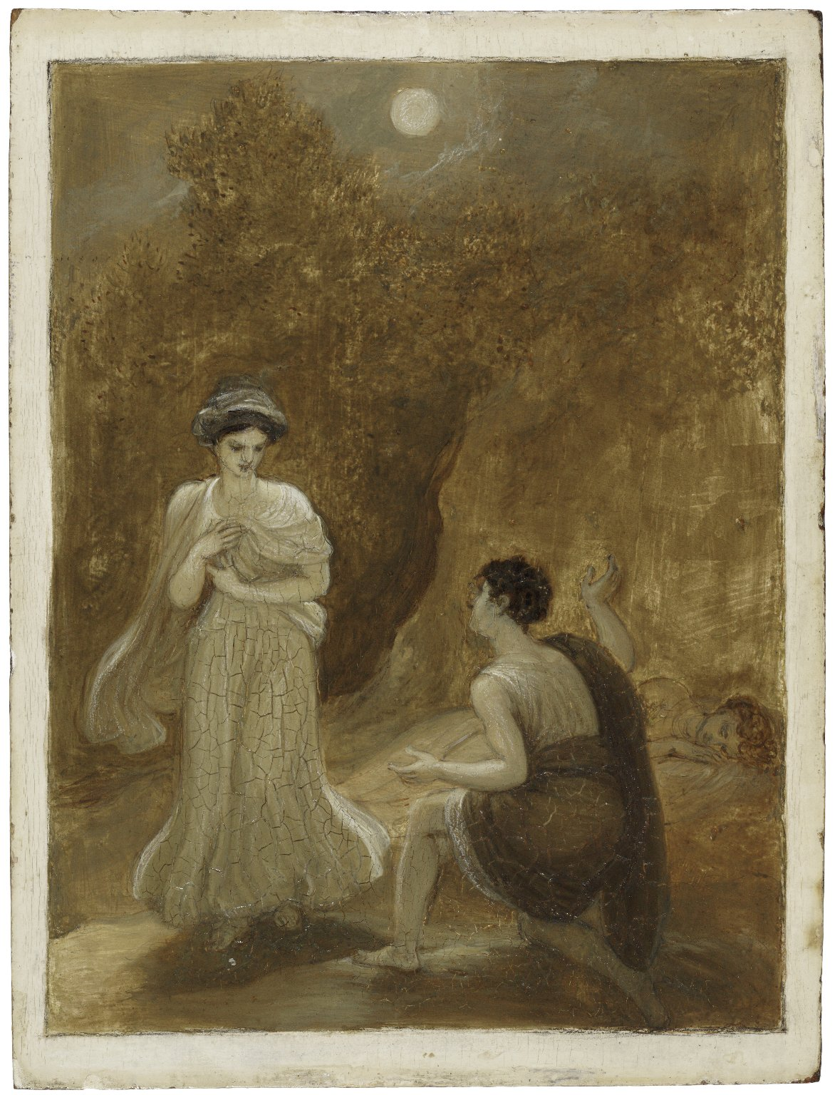 Lysander declaring his passion to Helena [graphic] / Robert Smirke.