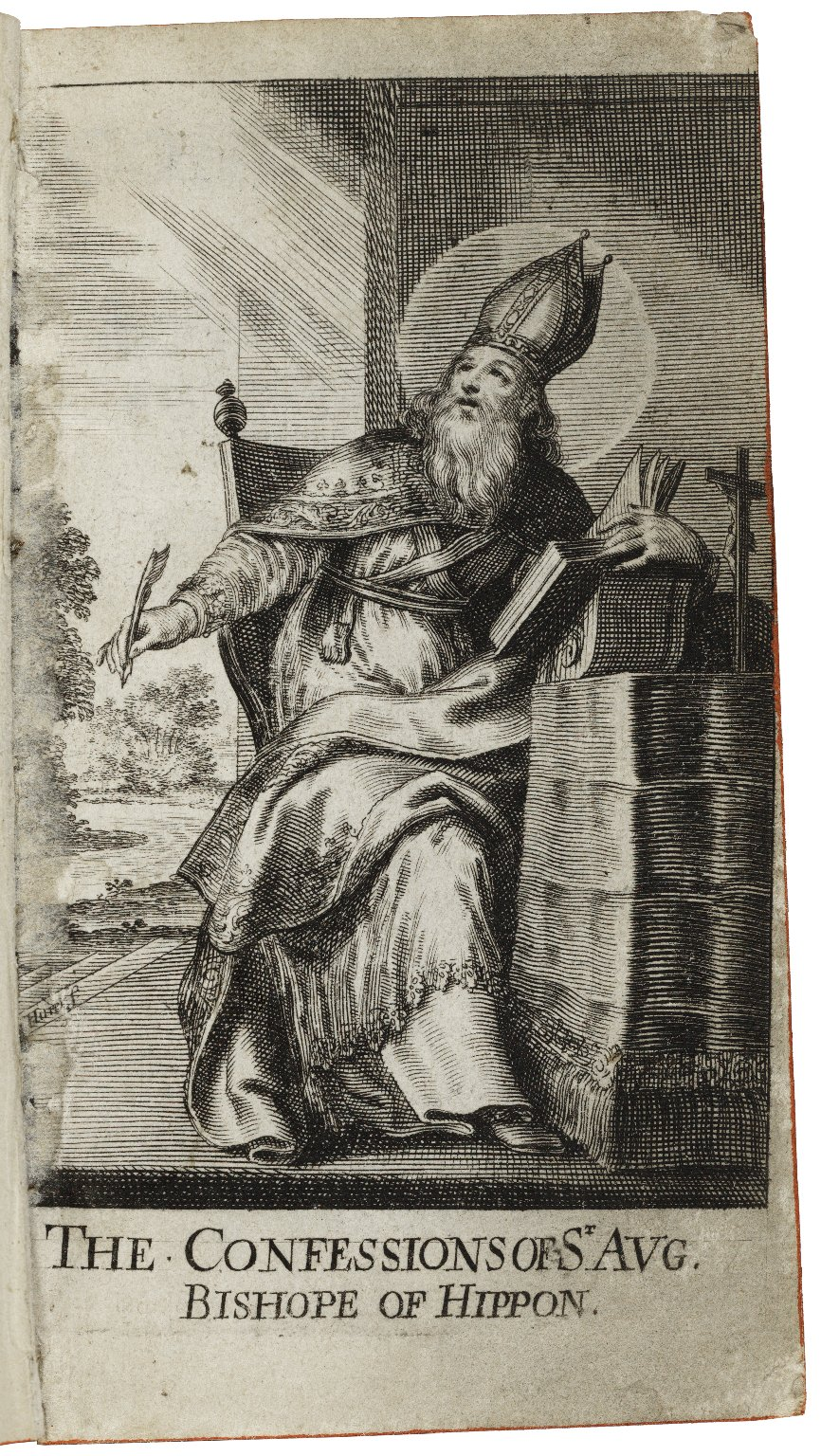 The confessions of S. Augustine Bishope of Hippon and D. of the Church. Translated into English by S.T.M.