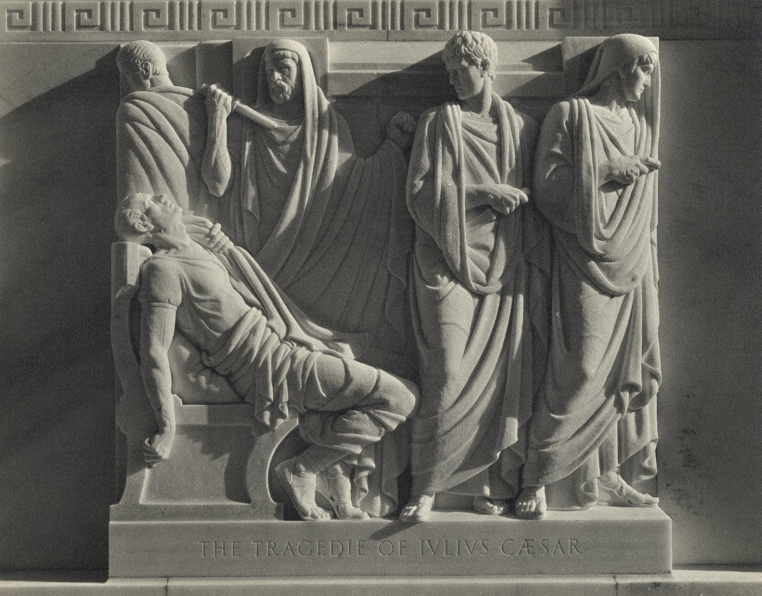 Julius Caesar bas relief (photo)