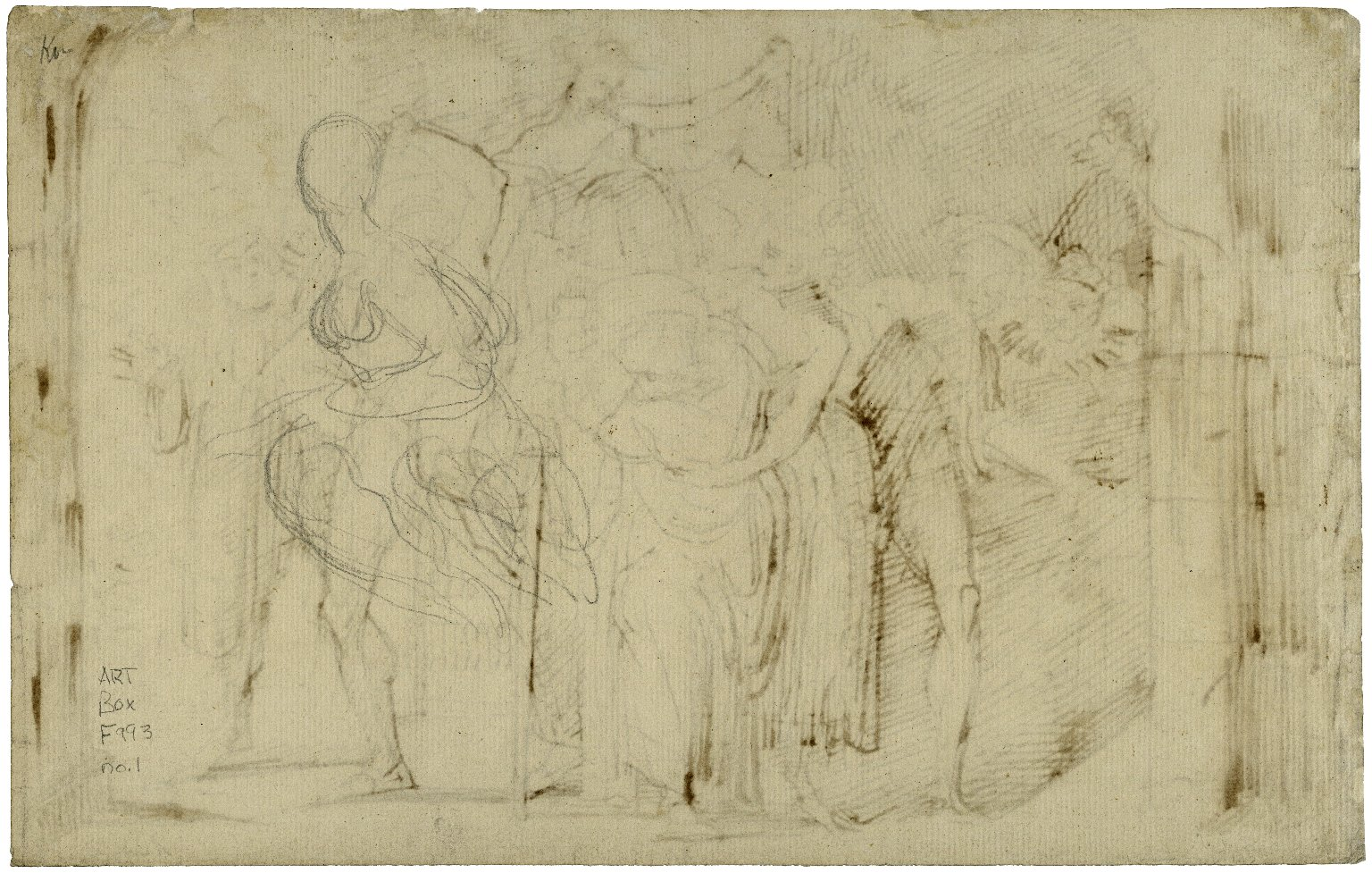 [Merry wives of Windsor, act IV, sc. 2, Ford belaboring Falstaff] [graphic] / [Henry Fuseli].